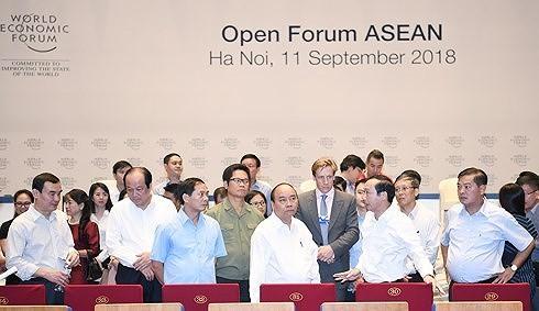 Công tác chuẩn bị cho sự kiện WEF ASEAN 2018 đã hoàn tất.