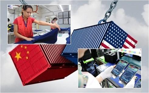Hàng điện tử và dệt may Việt Nam có thêm cơ hội từ chiến tranh thương mại Mỹ - Trung  (Ảnh minh họa)