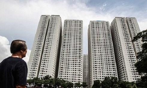 Những khối nhà cao tầng mọc lên đã khiến cho dân cư ở phường Hoàng Liệt tăng lên chóng mặt (Ảnh: Kienthuc.net)