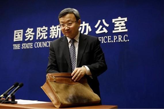 Thứ trưởng Thương mại Trung Quốc Vương Thụ Văn nói không thể đàm phán với Mỹ. Ảnh: REUTERS