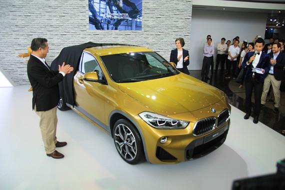 BMW X2 giá 2,1 tỷ đồng ra mắt thị trường Việt Nam
