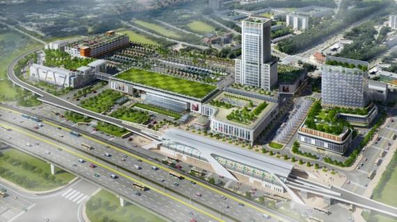 100 triệu USD xây TTTM  tại Bến xe Miền Đông mới