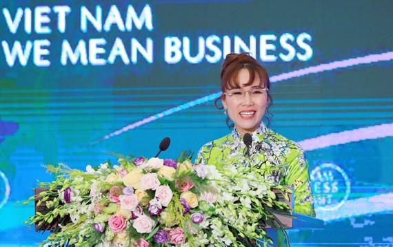Bà Nguyễn Thị Phương Thảo, TGĐ Vietjet.