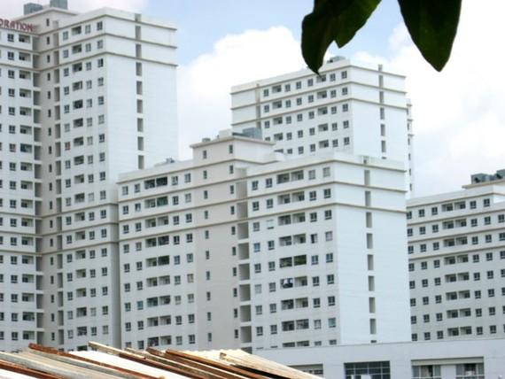 Khu căn hộ tái định cư 12.500 căn Thủ Thiêm.