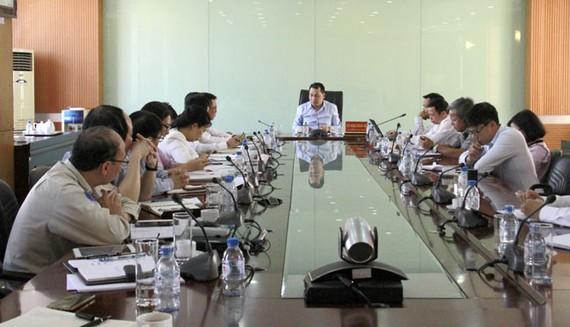 Bộ Công thương thăm dự án nhà máy xơ sợi polyester giữa Tập đoàn An Phát Holdings và PV Tex