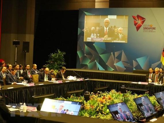 Quang cảnh Hội nghị Cấp cao ASEAN-Hoa Kỳ lần thứ 6. (Ảnh: Thống Nhất/TTXVN)