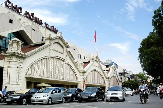 Chợ Đồng Xuân. (Nguồn: TTXVN)
