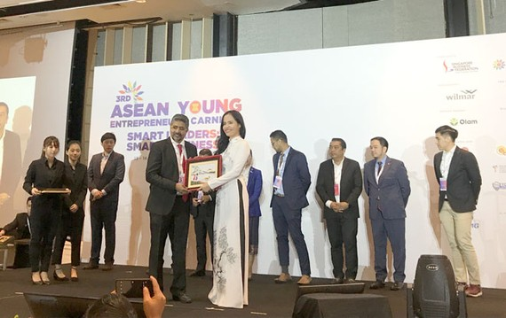 Hội Doanh nhân trẻ Việt Nam tham gia Diễn đàn Doanh nhân trẻ ASEAN.