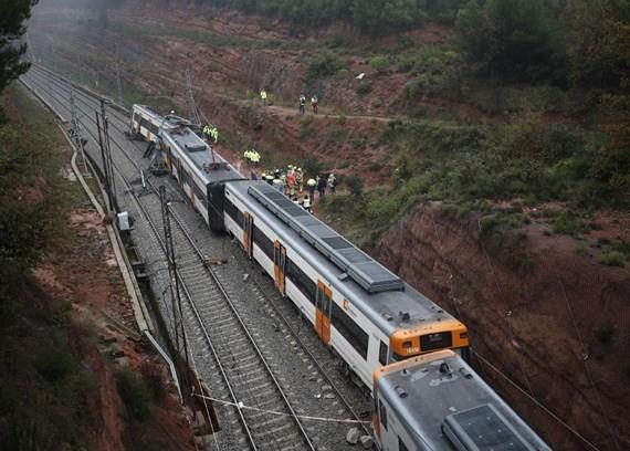 Hiện trường vụ tai nạn. (Ảnh: Reuters)