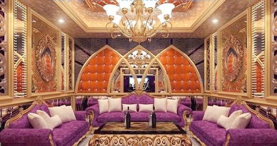 Nội thất Sao Mai Hotel được thiết kế và xây dựng bởi Cty Tư vấn Astar