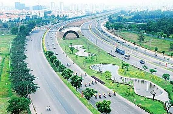 Một đoạn đường Nguyễn Văn Linh