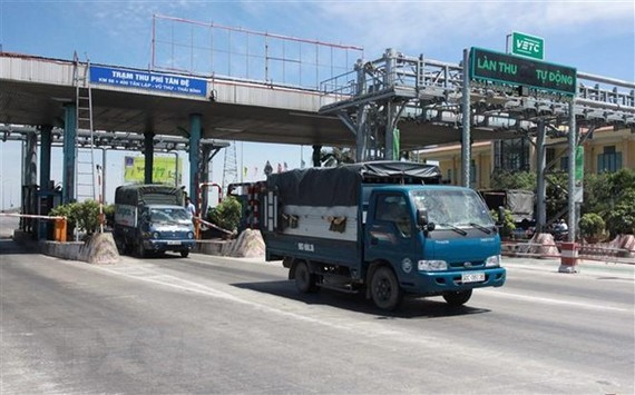 Trạm BOT Tân Đệ, xã Tân Lập, huyện Vũ Thư, Thái Bình. (Ảnh: Thế Duyệt/ TTXVN)