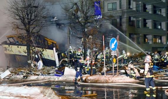Hơn 40 người bị thương trong vụ nổ tại Sapporo, Nhật Bản