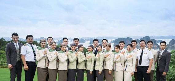 Trang phục tiếp viên dự kiến của hãng Bamboo.