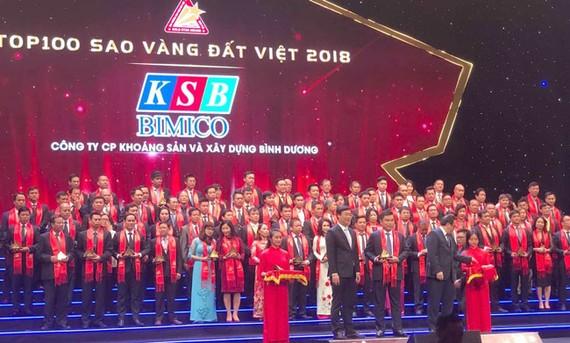 KSB vừa được xếp  vào Top 100 Sao vàng Đất Việt năm 2018 và 2 năm liên tiếp được Forbers vinh danh Top 200 doanh nghiệp dưới 1 tỷ USD tốt nhất Châu Á