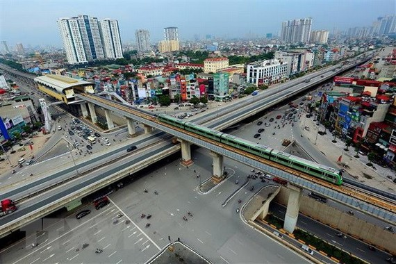 Một góc thủ đô Hà Nội. (Ảnh: Huy Hùng/TTXVN)