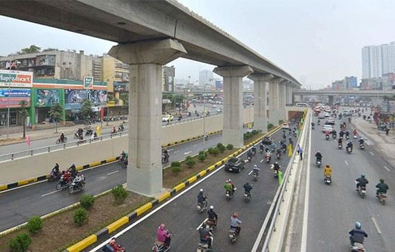 Diện mạo giao thông Thủ đô từng bước hiện đại, đồng bộ