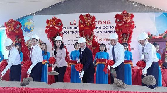 Nam Việt khởi công dự án nuôi cá tra công nghệ cao lớn nhất ĐBSCL và cả nước…