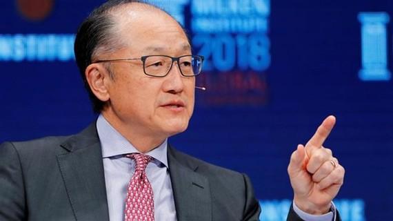 Chủ tịch WB Jim Yong Kim tuyên bố từ chức