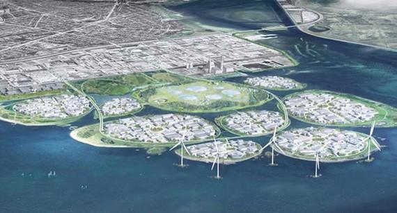 Đan Mạch xây thung lũng Silicon châu Âu trên đảo nhân tạo