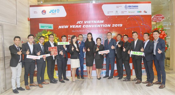 JCI Việt Nam ra mắt ban điều hành nhiệm kỳ mới