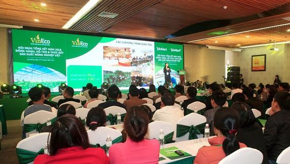 """Hội nghị tổng kết năm 2018 """"Đồng hành, hỗ trợ và thúc đẩy sản xuất nông nghiệp Việt"""""""
