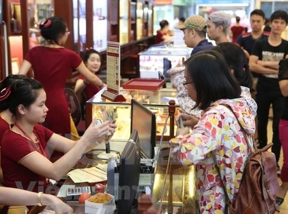 Hai thương hiệu vàng trong nước tiếp tục tăng 70.000 đồng