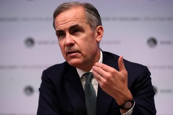 Thống đốc Ngân hàng Trung ương Anh (BoE) Mark Carney. (Nguồn: AFP/Getty Images)