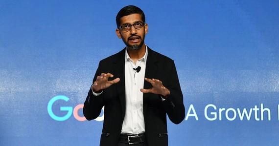 Giám đốc điều hành Google (CEO) Sundar Pichai. (Nguồn: Getty Images)