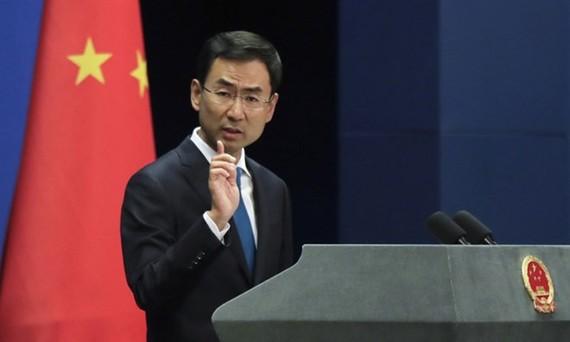 Người phát ngôn Bộ Ngoại giao Trung Quốc Cảnh Sảng. (Nguồn: Getty Images)
