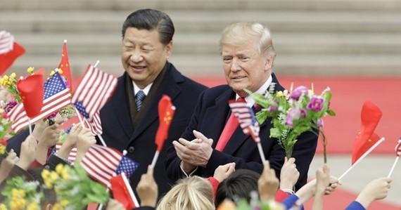 Tổng thống Mỹ Donald Trump và Chủ tịch Trung Quốc Tập Cận Bình. (Nguồn: Getty Images)