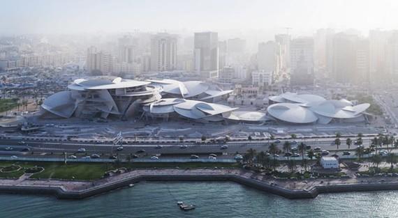 Bảo tàng Quốc gia Qatar - bông hồng sa mạc - chuẩn bị khai trương