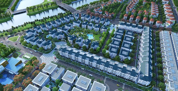 Dự án Khu Sol Vilas.