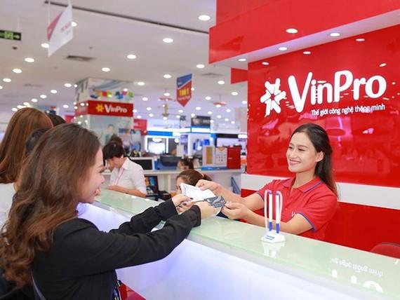 VinPro tặng ưu đãi tích lũy lên đến 6% trên một giao dịch cho các khách hàng mua sắm trong tháng 3 này