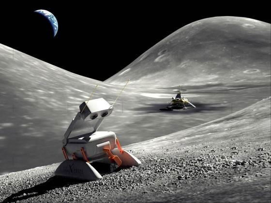 Nasa chạy đua thám hiểm mặt trăng
