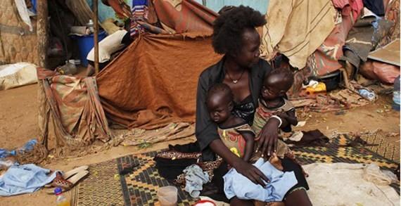 Châu Phi hiện là nơi có số người đói nhiều nhất do xung đột và thiên tai