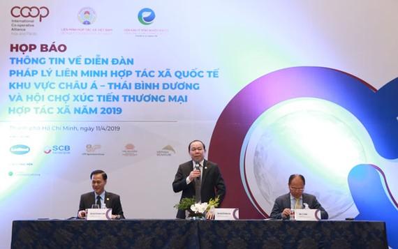 Việt Nam đăng cai tổ chức Diễn đàn pháp lý liên minh HTX quốc tế