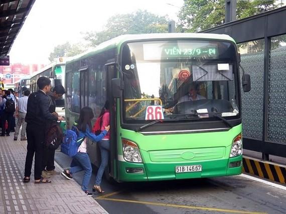 Các tuyến xe buýt có trợ giá TP.HCM tăng 1.000 đồng/lượt