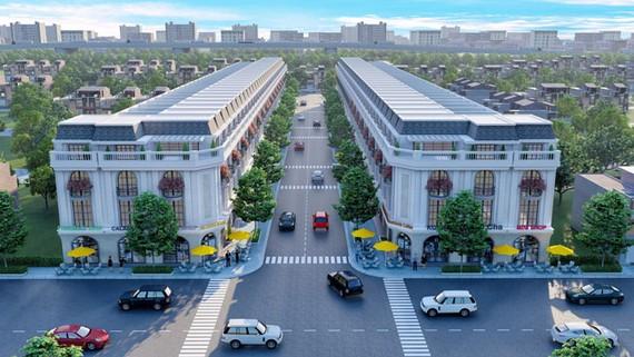 Phối cảnh tổng thể dự án Golden City3