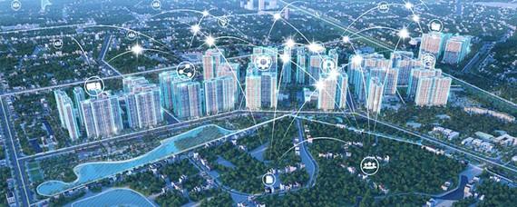 Vinhomes Smart City là Đại đô thị thông minh đẳng cấp quốc tế đầu tiên tại Việt Nam kiến tạo một hệ sinh thái thông minh toàn diện nhằm mang đến cuộc sống năng động, hiện đại và thời thượng - hình ảnh mang tính minh họa.