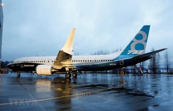 Máy bay Boeing 737 MAX 9 tại nhà máy của Boeing ở Renton, Washington (Mỹ). (Ảnh: AFP/TTXVN)