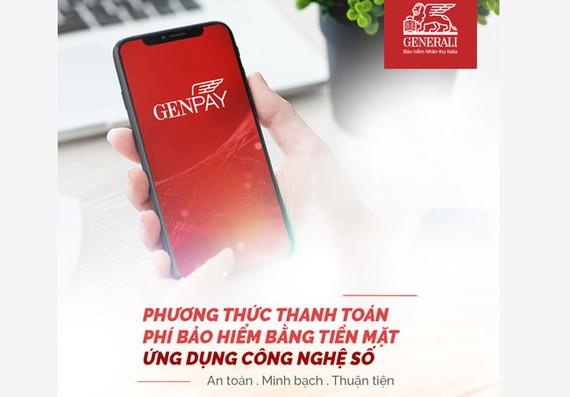 Generali ra mắt ứng dụng Genpay
