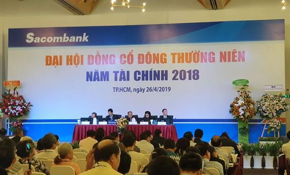 ĐHCĐ 2019 Sacombank: Kế hoạch chia cổ tức phụ thuộc NHNN