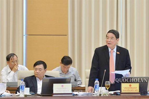 Ông Nguyễn Đức Hải, Chủ nhiệm Ủy ban Tài chính, Ngân sách