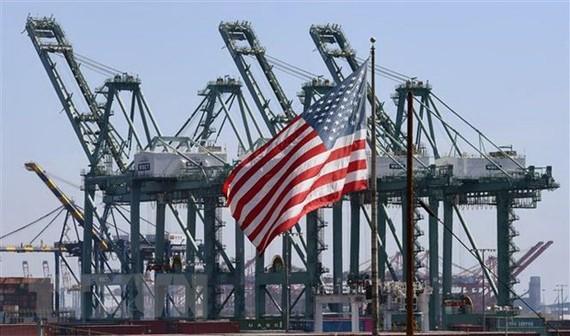 Cảng Long Beach ở Los Angeles, Mỹ. (Nguồn: AFP/TTXVN)