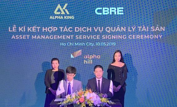 CBRE quản lý tài sản toàn diện cho dự án Alpha Hill giai đoạn 2