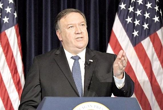 Thay vì đến Moscow (Nga) Ngoại trưởng Mike Pompeo tham dự các cuộc thảo luận về vấn đề Iran tại Brussels (Bỉ) trong ngày 13-5.