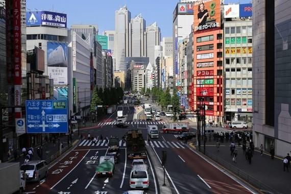 Quang cảnh thủ đô Tokyo. (Nguồn: japantimes.co.jp)