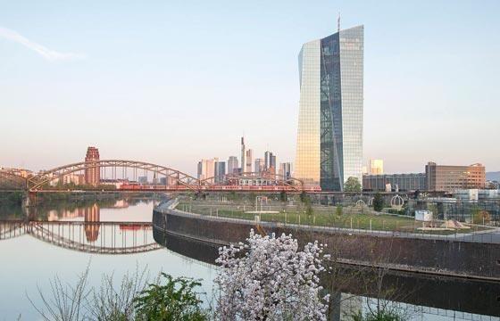 Quang cảnh trụ sở ECB. (Nguồn: europa)
