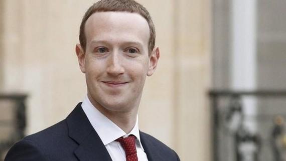 Người sáng lập Facebook Mark Zuckerberg. (Nguồn: EPA)